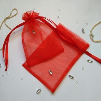 Подарочный мешочек из органзы (упаковочный мешочек)
