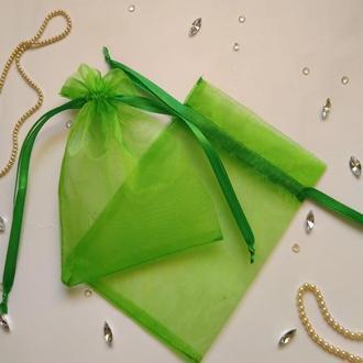 Мешочек из органзы для упаковки (подарочный мешок для упаковки)