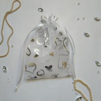 Подарочный мешочек из органзы ( мешочек для упаковки изделий