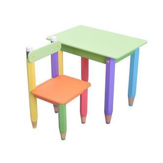 """Детский столик + стульчик """"Карандашики"""""""