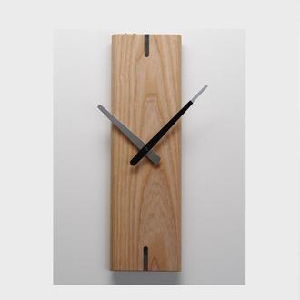 Годинники настінні Wood 1, натуральне дерево