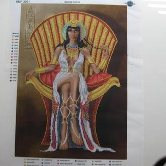Схема для вышивания бисером Царица Египта