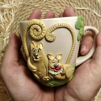 Чашка-Котікі