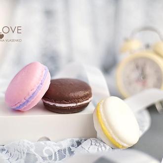 Сувенирное крафтовое мыло Сладости Macarons