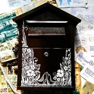 Оригинальный почтовый ящик. Роспись на заказ.