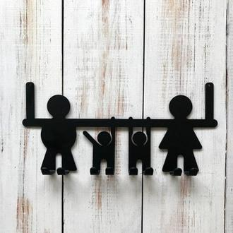 ключницы для дома, ключница, ключницы металлические, настенные ключницы, семья
