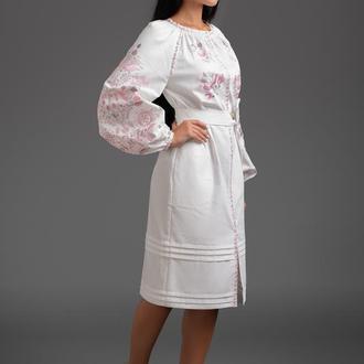 """Дизайнерська вишита сукня """"Дерево Життя"""" 00120"""