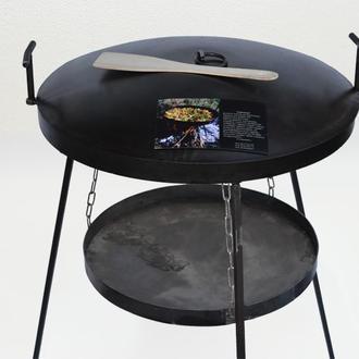 Сковорода + подставка для разведения огня (садж)