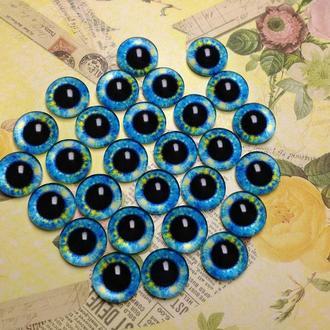 Глаза кабошоны 10 мм №66