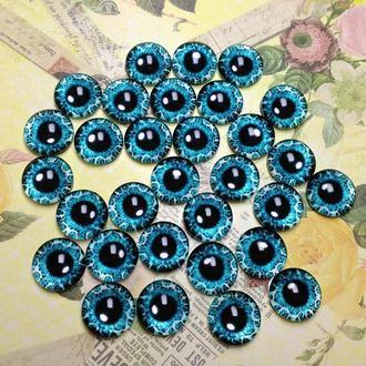 Глаза кабошоны 10 мм №71