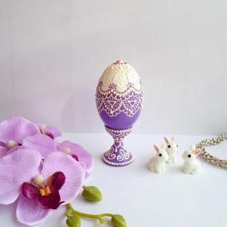 Пасхальное яйцо - точечная роспись