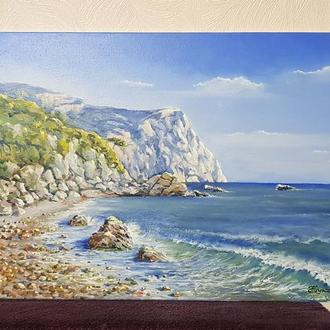 Картина «Мыс Фиолент», холст \ масло. Размер 40х60 см.