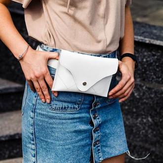 Женская поясная сумка,сумка из натуральной кожи,мини сумка,идеальный подарок девушке,стильная сумка