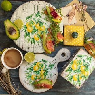 набор для кухни лимон