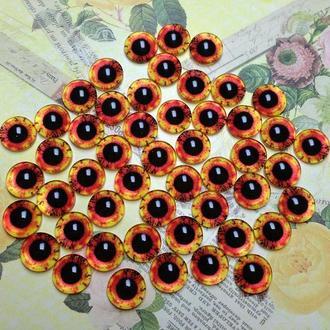 Глаза-кабошоны 8 мм №51