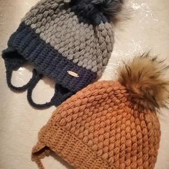 Оригинальные шапки для вас и ваших деток