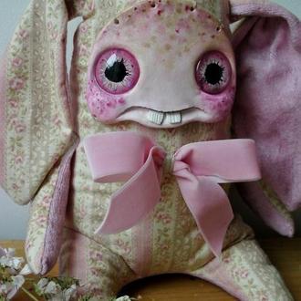 Коллекционная чердачная игрушка, домашний монстрик Кролик