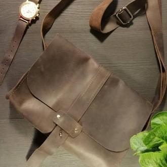 Женская кожаная сумка полностью из натуральной кожи+КЛЮЧНИЦА В ПОДАРОК!!!
