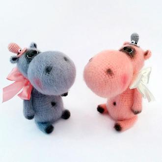 Пара Бегемоты игрушка