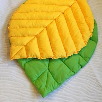 Листик коврик одеяло