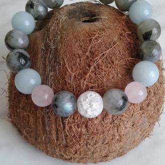 Браслет з натуральних каменів