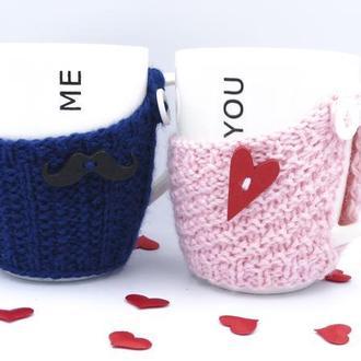 Чашки в чехлах Me&You