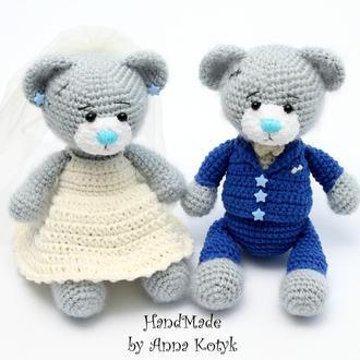 Свадебные мишки Тедди (Весільні ведмедики)