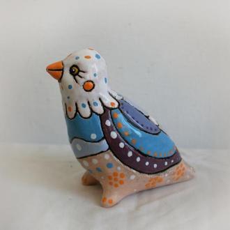 """керамічна скульптура """"Пташка"""""""