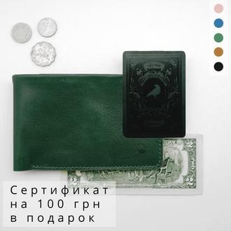 Холдер для документов, зеленый кошелек, подарок девушке | Manu Holysaints