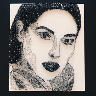 Портрет по Вашему фото | String art