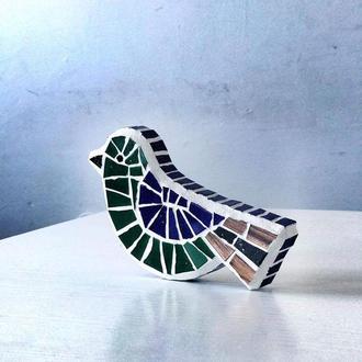 Птичка из мозаики, Декор интерьера