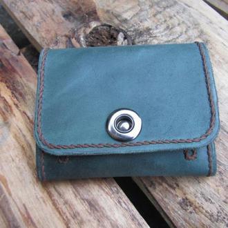 кожаный кошелек женский, кошельки для монет и денег,ПОДАРОК,тонкий кошелек женский,именной кошелек
