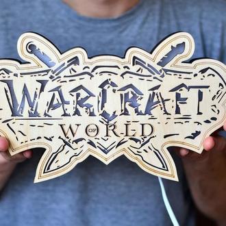 Светильник из дерева - World of Warcraft