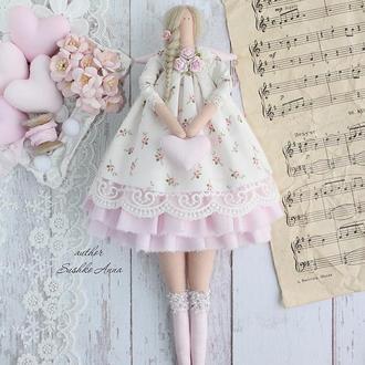 Интерьерная, текстильная кукла в стиле Тильда!