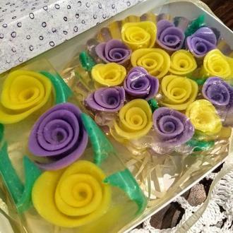 """Подарочный набор мыла """"Розы"""""""