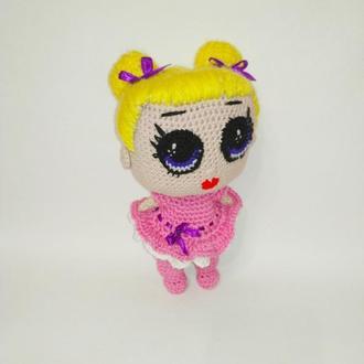 Мягкая игрушка кукла ЛОЛ Высота 20 см.