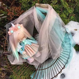 Кукла  Единорог, Куколка Единорожка, Unicorn, Декор для детской, Подарок для девочки