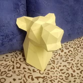 Оригинальный подарок трофейная голова Львица