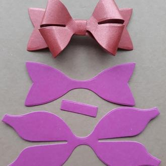 Вырубка для скрапбукинга 3Д бантик, высечки для скрапбукинга, декор для скрапбукинга