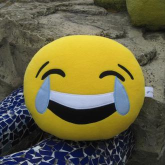 Мягкая игрушка - подушка Эмодзи Emoji Смайл