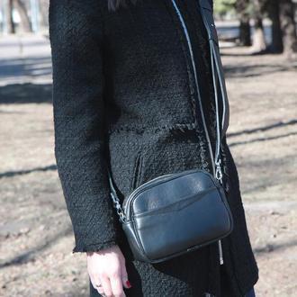 Женская кожаная сумка (кроссбоди +поясная)