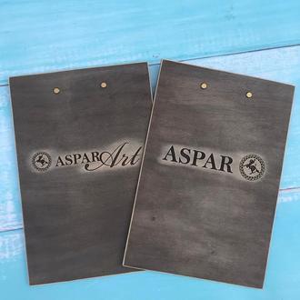 Деревянная Папка-планшет с металлическим зажимом, Деревянный клипборд, Деревянный Планшет