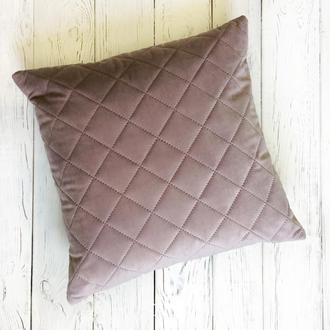 Декоративная подушка Diamond розовая
