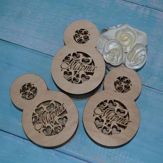 Деревянная подарочная коробка, оригинальная упаковка, бокc, деревянная подарочная упаковка, 8 марта