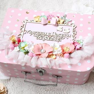 Большой чемоданчик Мамины и Папины сокровища в наличии