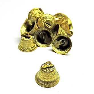 Колокольчик Искра 18мм золотистый