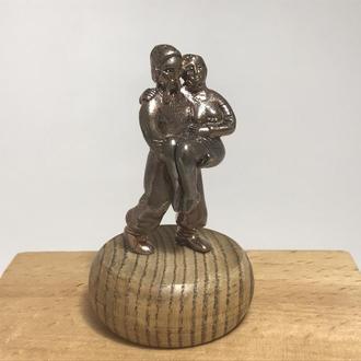 Бронзовая статуэтка Знак Зодиака ′Козак′ ′Дева′