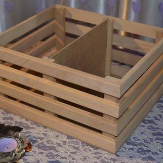 Ящик для книг из ольхи Box Up Book
