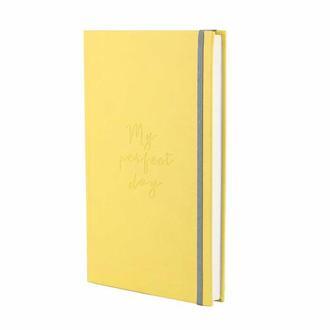 Блокнот Notebook classic My perfect day Жёлтый