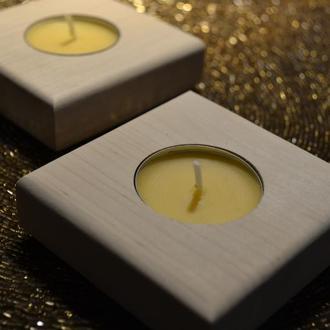 Подсвечник на 1 свечу из ольхи Light Up 1